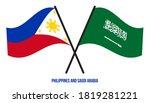philippines and saudi arabia... | Shutterstock .eps vector #1819281221