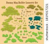 map builder illustrations for... | Shutterstock .eps vector #1819317221