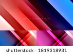 dynamic diagonal lines abstract ... | Shutterstock .eps vector #1819318931