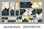 set of creative geometric web... | Shutterstock .eps vector #1819330124