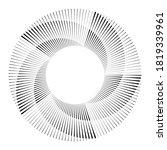 radial speed lines in spiral...   Shutterstock .eps vector #1819339961