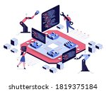 programming and software... | Shutterstock .eps vector #1819375184