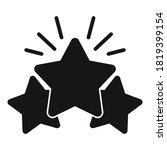 shiny star reputation icon....