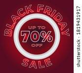 black friday sale banner... | Shutterstock .eps vector #1819431917