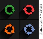4 color arrow reload  rotation  ...