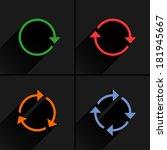 4 color arrow loop  refresh ...