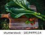 Fresh Organic Vegetables On...