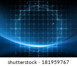 geometry of space series.... | Shutterstock . vector #181959767