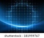 geometry of space series.... | Shutterstock . vector #181959767