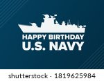 the united states or u.s. navy... | Shutterstock .eps vector #1819625984