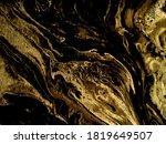 gold marbling texture design... | Shutterstock .eps vector #1819649507