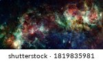 Galaxy cluster. elements of...