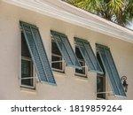 Storm Shutters On Side Windows...