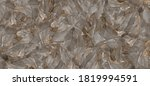 Small photo of Terrazzo polished stone floor and wall pattern and color surface marble and granite stone, Material for interior-exterior home decoration and ceramic tile surface, Quality stone texture with deep vein