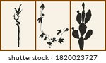 a set of three abstract... | Shutterstock .eps vector #1820023727