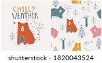hand drawn vector illustration... | Shutterstock .eps vector #1820043524