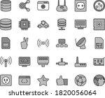 thin line gray tint vector icon ... | Shutterstock .eps vector #1820056064