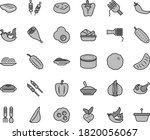thin line gray tint vector icon ... | Shutterstock .eps vector #1820056067