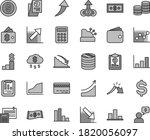 thin line gray tint vector icon ... | Shutterstock .eps vector #1820056097