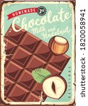 chocolate with milk and... | Shutterstock .eps vector #1820058941