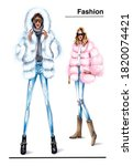 Fashionable Girls.trendy Winter ...