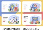 geography class web banner or... | Shutterstock .eps vector #1820113517