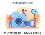 photography school course.... | Shutterstock .eps vector #1820114591