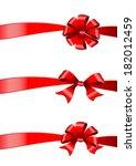 bows design | Shutterstock . vector #182012459