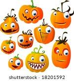 halloween vector set 4