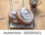 Spiral Shaped Pastry Typical O...