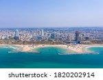 Aerial View Of Netanya...