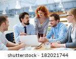 image of group of... | Shutterstock . vector #182021744