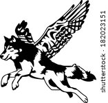 angel,angelic,animal,bird,black,cool,creative,creature,design,dog,eagle,fantasy,fi,fiction,flying