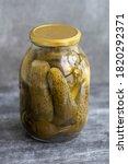 Fermented Vegetables. Glass Jar ...