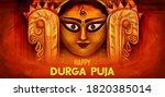 illustration of goddess durga... | Shutterstock .eps vector #1820385014