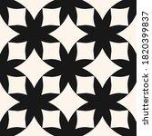 simple black and white raster...   Shutterstock . vector #1820399837