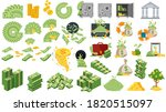 set a various kind of money.... | Shutterstock .eps vector #1820515097