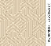 art deco seamless pattern... | Shutterstock .eps vector #1820563994