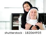 lifestyle family people posing | Shutterstock . vector #182064935