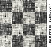 monochrome irregular canvas... | Shutterstock .eps vector #1820699897