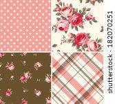 set of patterns   Shutterstock .eps vector #182070251