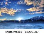 Winter Landscape In The Mornin...