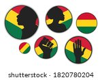 set of different silhouettes of ...   Shutterstock .eps vector #1820780204