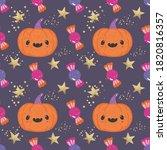 Halloween Cute Whimsical Jack ...