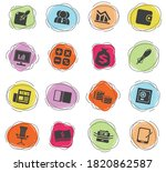 business and finance color... | Shutterstock .eps vector #1820862587