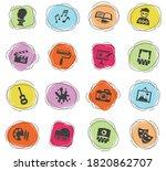 art web icons for user... | Shutterstock .eps vector #1820862707