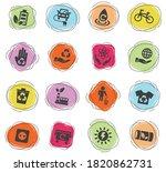 alternative energy web icons... | Shutterstock .eps vector #1820862731