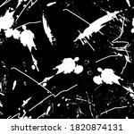 black and white graffiti style... | Shutterstock .eps vector #1820874131