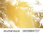 gold grunge texture with... | Shutterstock .eps vector #1820884727