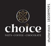 vector choice nuts coffee and... | Shutterstock .eps vector #1820899091